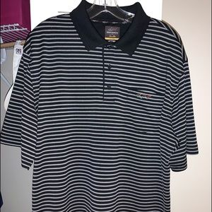 Greg Norman Golf Polo Polyester (Large)